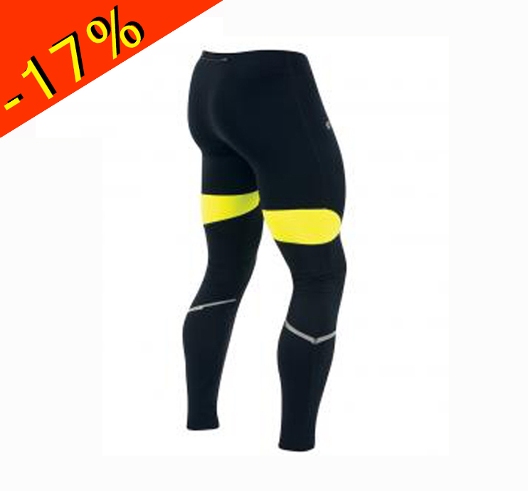 pearl izumi collant running homme mi saison hiver fly noir jaune collant pour la course pieds. Black Bedroom Furniture Sets. Home Design Ideas