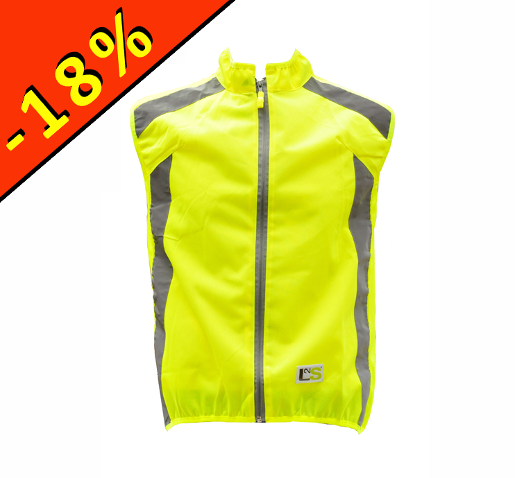 gilet jaune cycliste l2s visioplus jaune fluo. Black Bedroom Furniture Sets. Home Design Ideas