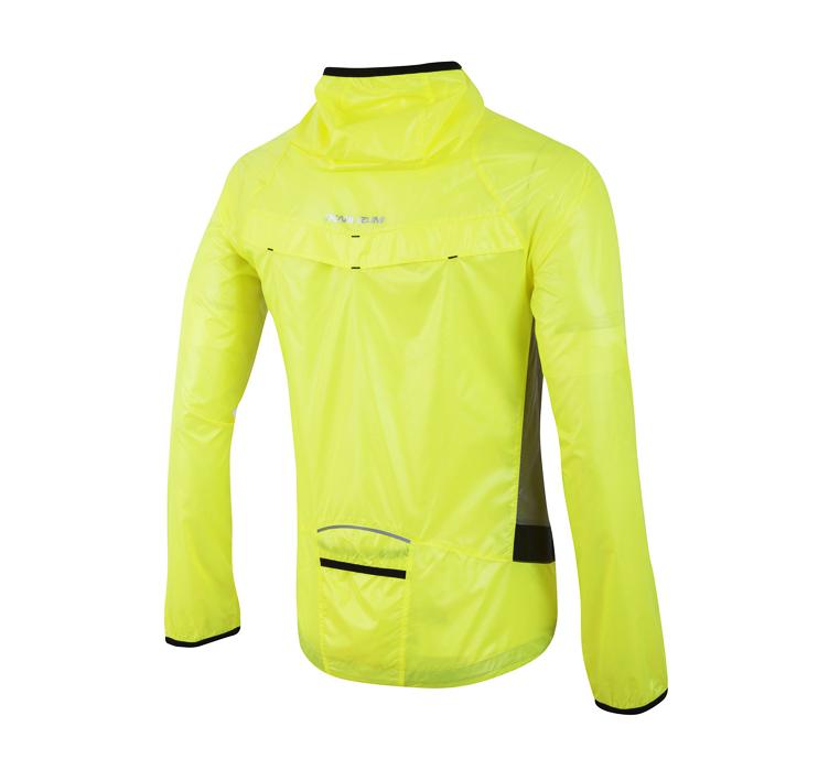 Veste running femme fluo