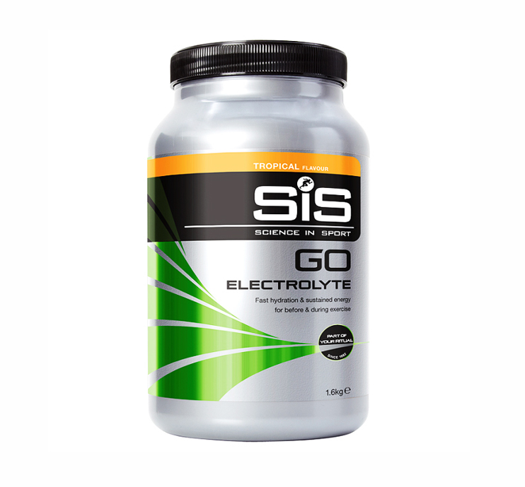 sis go électrolytes tropical pot 1.6kg science in sport
