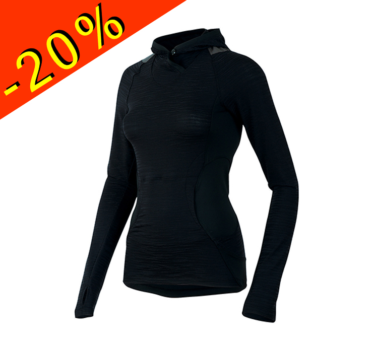 Veste running femme avec capuche