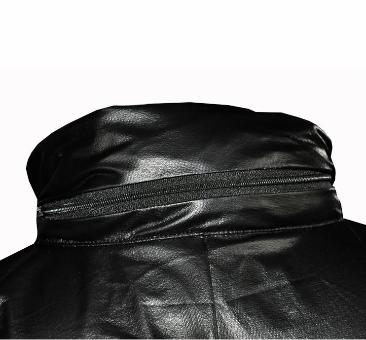 Légère Noir 0 100 1 Ultra Imperméable U Uglow Étanche Rain Veste f0x1txwq4