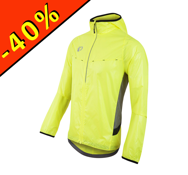 Coupe vent running homme fluo