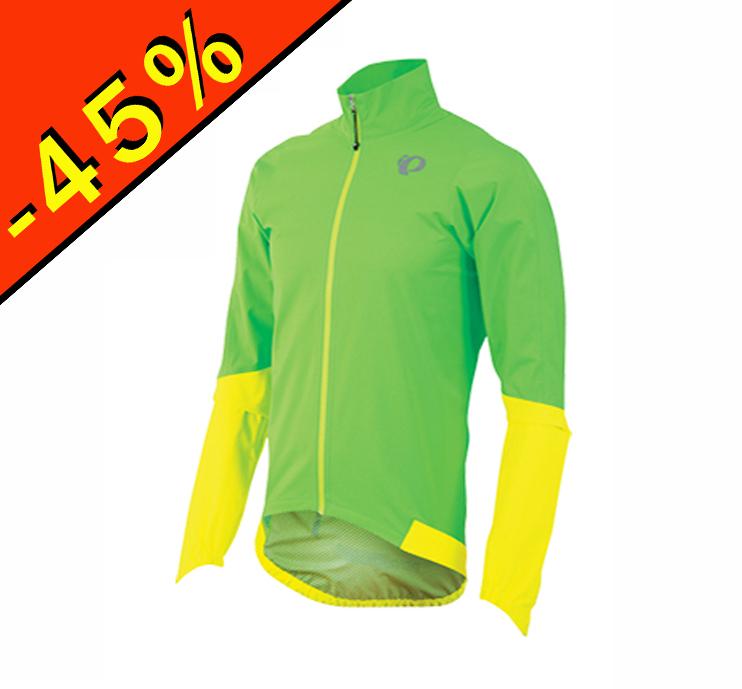 pearl izumi elite wxb veste imperméable cyclisme homme vert jaune ... 909dd469869f